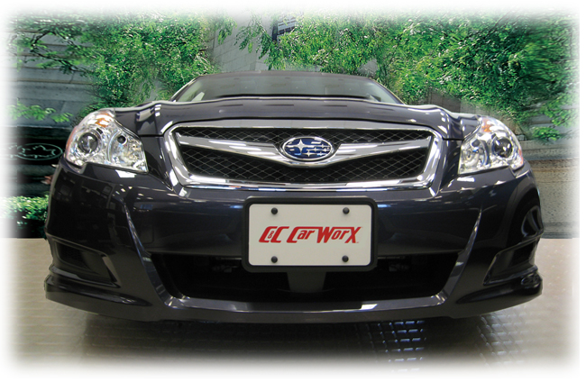 Front License Bracket to fit the 2010-2011-2012 Subaru Legacy Sedan by C&C CarWorx
