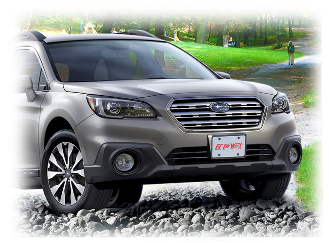 Front License Bracket to fit the 2015-2016-2017 Subaru Outback Wagon by C&C CarWorx