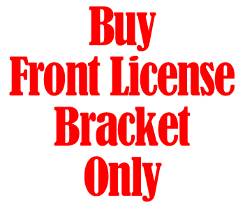 Buy Front License Bracket Only