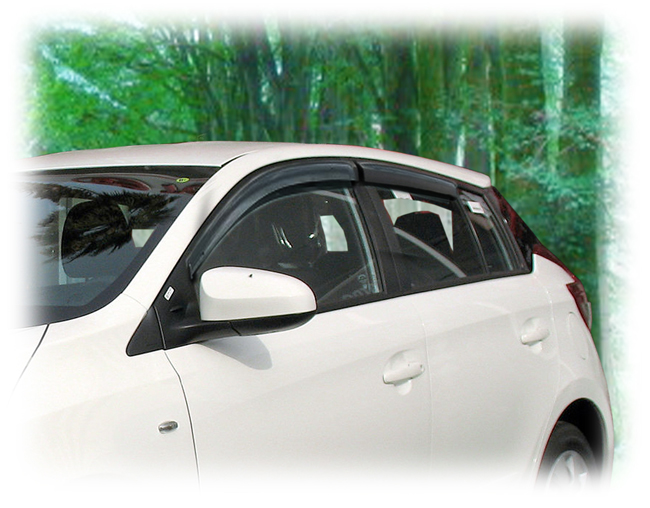 Custom-made by C&C CarWorx to fit your model's exact window dimensions for a precise installation.