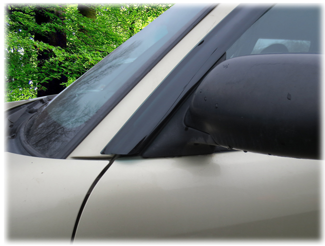 Customer testimonials confirm overwhelming satisfaction with the C&C CarWorx set of two Tape-On Outside-Mount Window Visor Rain Guards to fit 1998-99-00-01-02 Subaru Forester models