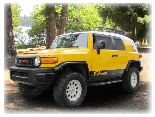 Customer testimonials confirm overwhelming satisfaction with the C&C CarWorx set of four Tape-On Outside-Mount Window Visor Rain Guards to fit 2007-08-09-10-11-12-13-14 Toyota FJ Cruiser models