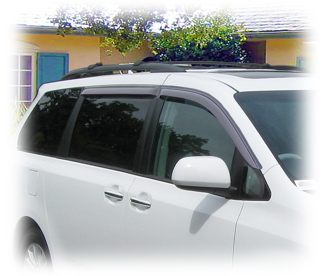 Toyota Sienna Window Visor Rain Guards