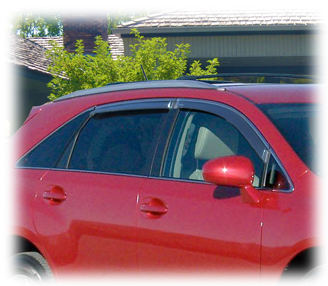 Toyota Venza Window Visor Rain Guards