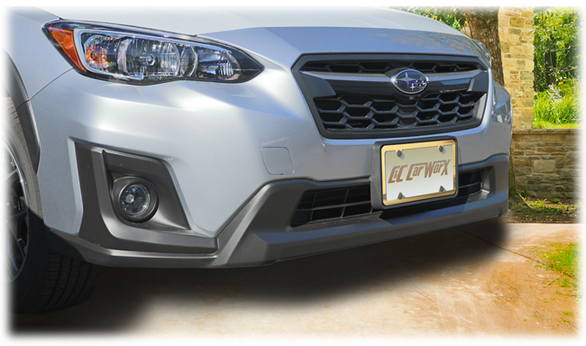 Front License Bracket to fit the 2018-2019 Subaru Crosstrek by C&C CarWorx