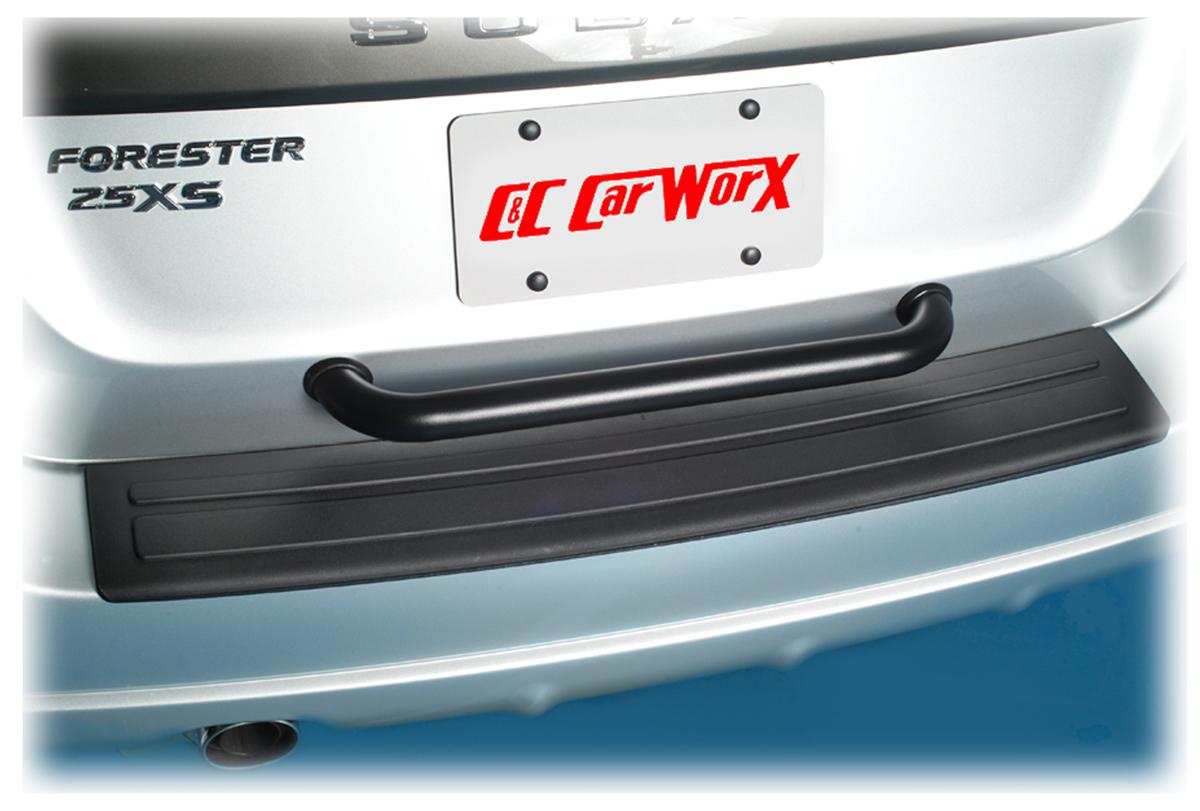 Rear Bumper Protector Rear Step Plate Cover Guard Bumper Pad For 2003 2004 2005 2006 2007