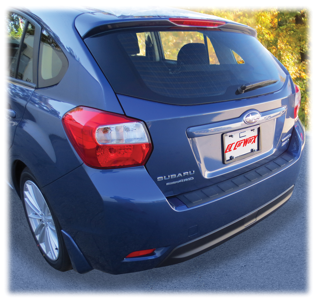 Subaru Rear Bumper Cover Guard Pad Protection For 2012