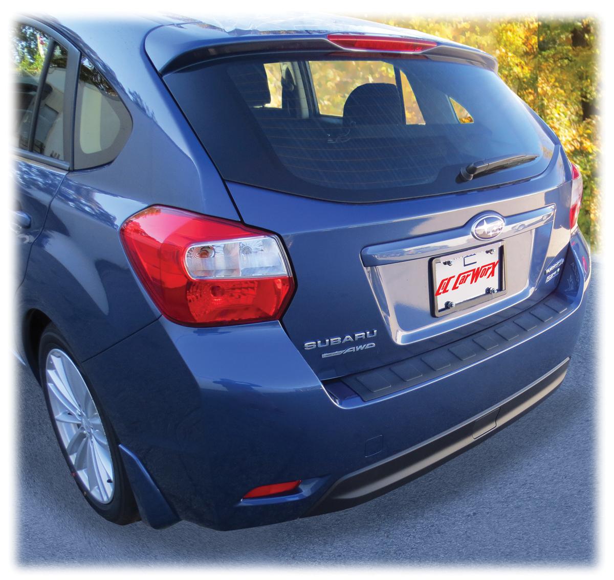 Subaru Rear Bumper Cover Guard Pad Protection For 2012 2013 2014 2015 2016 Subaru Impreza 5 Door Hatchback Wagon At Mycarworx Com