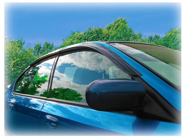 Customer testimonials confirm overwhelming satisfaction with the exact, custom-designed fit of the Window Visor Rain Guards by C&C CarWorx to fit the 2005-2009 Subaru Legacy Sedan