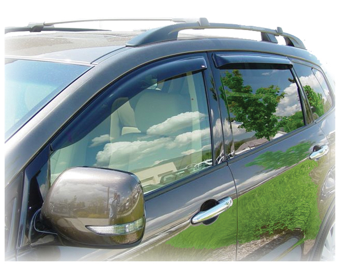 Window Visor Rain Guards For Subaru B9 Tribeca Tape On