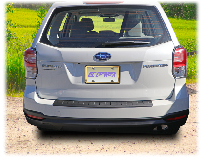 Also performing the miraculous task of renewing an older, abused rear bumper, the C&C CarWorx Rear Bumper Cover which fits 2014-2018 Subaru Forester is an ingenious way to spruce up a vehicle you plan to sell.