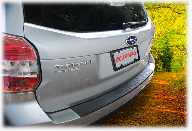 C&C CarWorx LONG Rear Bumper Pad is more than 4 inches longer than the FO-14-BC version.