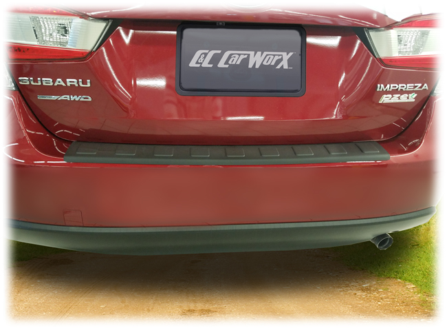C&C CarWorx Rear Bumper Cover to fit 2017, 2018, 2019 Subaru Impreza 4-Door Sedan and Sport Models