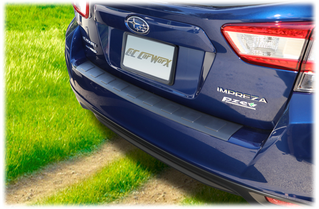 Designed and manufactured to fit perfectly on the 2017 Impreza Hatchback rear bumper, the C&C CarWorx rear bumper cover has a smart look and even smarter value.