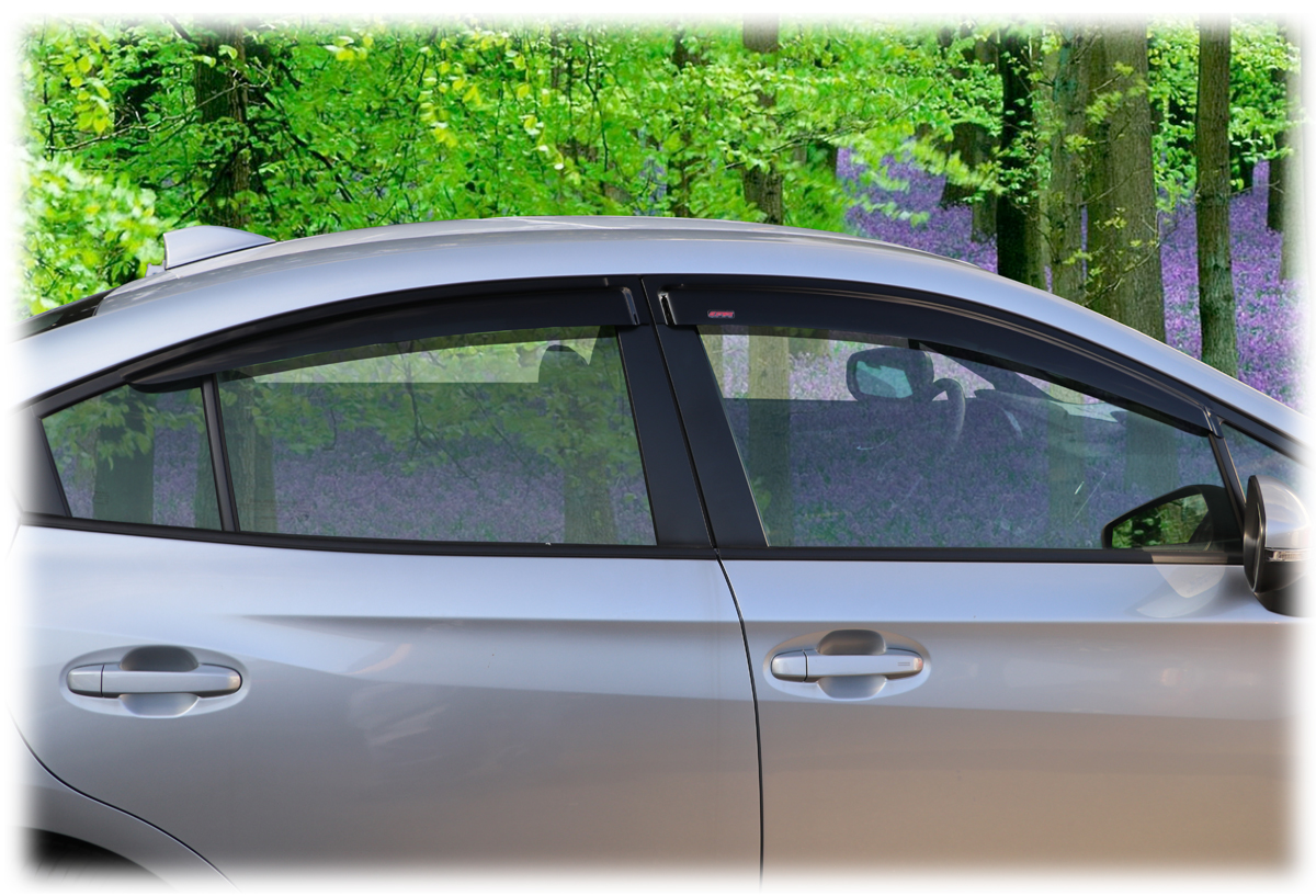 Set Of 4 Window Rain Guards For Subaru Impreza Sedan 2017