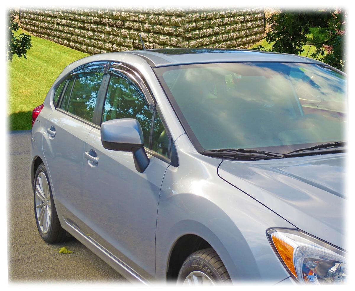 Rain Guards To Fit 2013 2014 2015 2016 2017 Subaru Xv