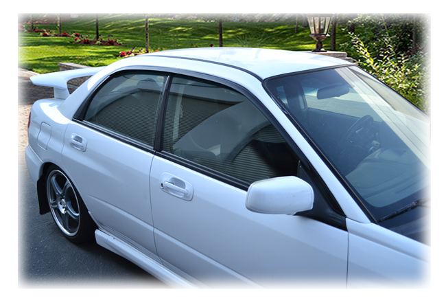 Window Visor Rain Guards For 1998 1999 2000 2001 2002