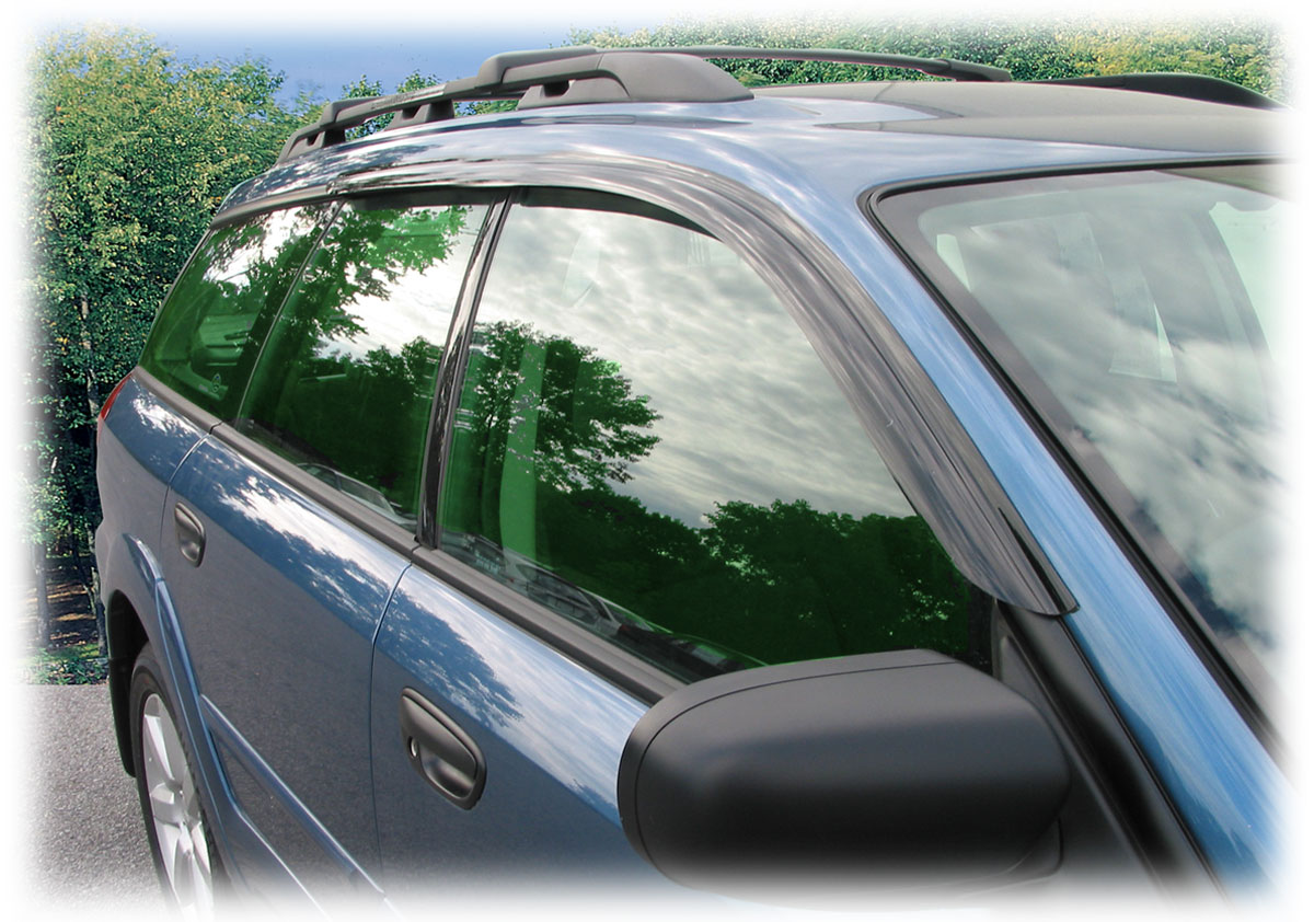 Tape-On Outside-Mount Window Visors (Shades Weather Air Snow