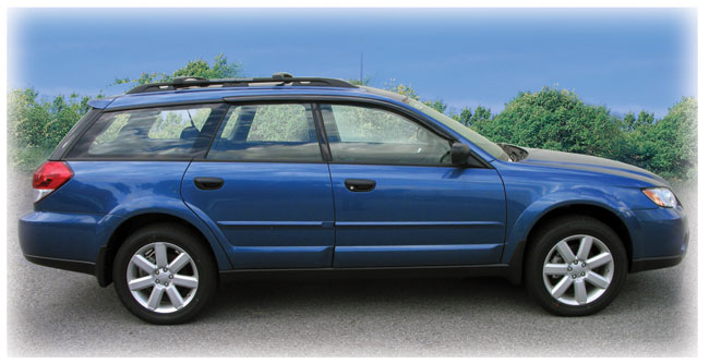 Customer testimonials confirm overwhelming satisfaction with the window visor rain guards by C&C CarWorx to fit 2005-2009 Subaru Outback Wagon and Subaru Baja