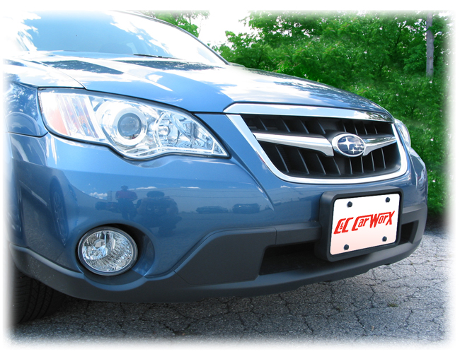 Front License Bracket to fit the 2008-09 Subaru Legacy Outback Wagon by C&C CarWorx