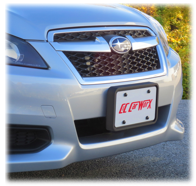 Front License Bracket to fit the 2013-2014 Subaru Legacy Sedan by C&C CarWorx