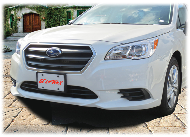 Front License Bracket to fit the 2015-2016-2017 Subaru Legacy Sedan by C&C CarWorx