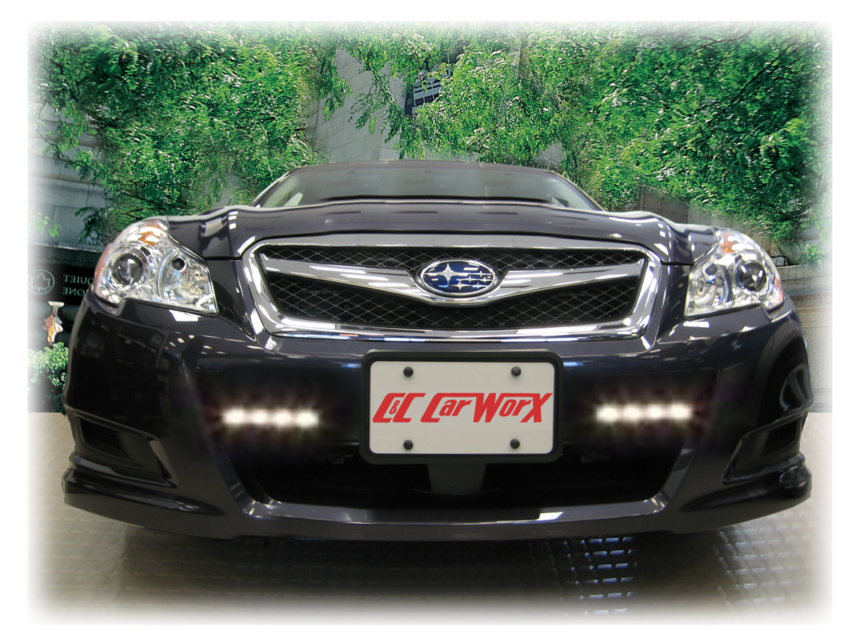 These rostra led daytime running lights offer increased safety benefits and a custom stylized design
