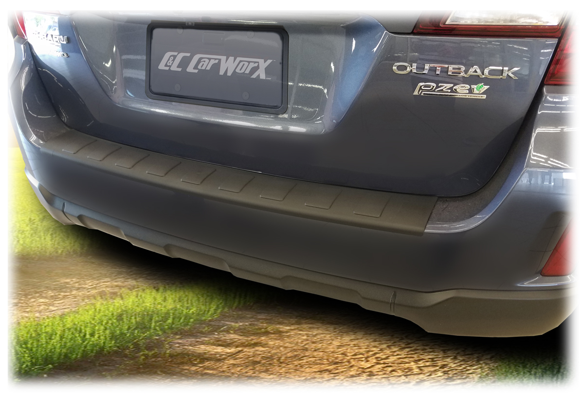 Subaru Rear Bumper Cover Guard Pad Protection For 2015