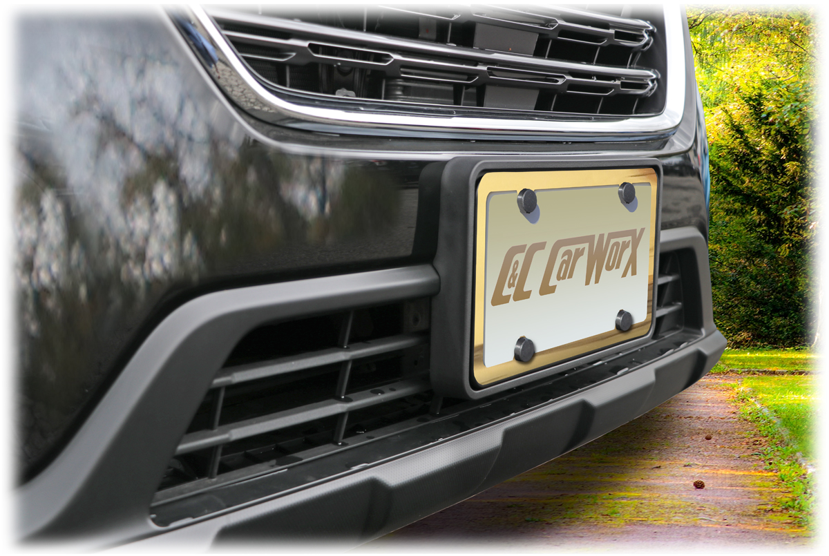 Details about Front License Bracket by C&C CarWorx to fit 18-19 Subaru  Outback Wagon OW-18-FP