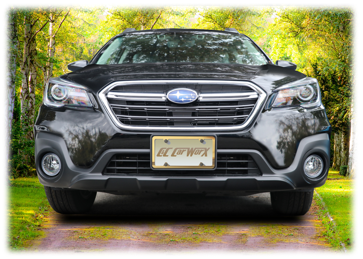front license bracket by c c carworx to fit 2018 subaru outback wagon ow 18 fp ebay. Black Bedroom Furniture Sets. Home Design Ideas