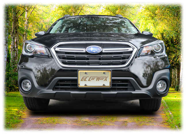 Front License Bracket to fit the 2018-2019 Subaru Outback Wagon by C&C CarWorx
