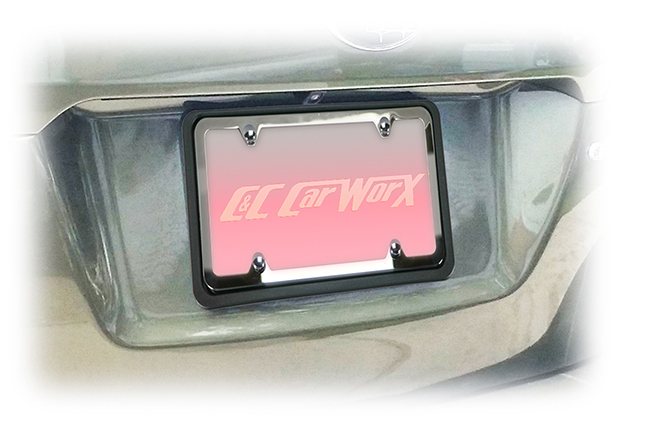Universal Rear License Bracket by C&C CarWorx