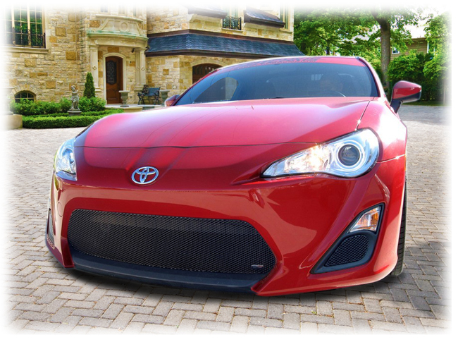 C&C CarWorx Aftermarket Toyota Scion FR-S Grilles by Grillcraft