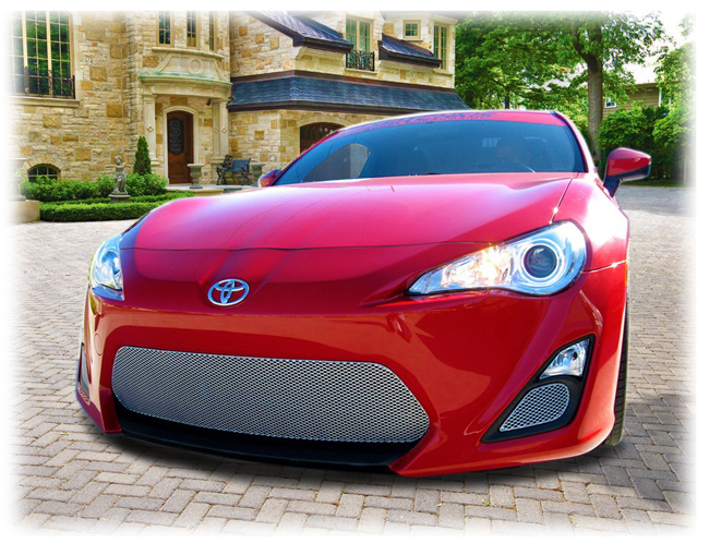 Customer testimonials confirm overwhelming satisfaction with the Set of 3 lower sport grilles to fit 2013-16 Toyota Scion FR-S by Grillcraft.