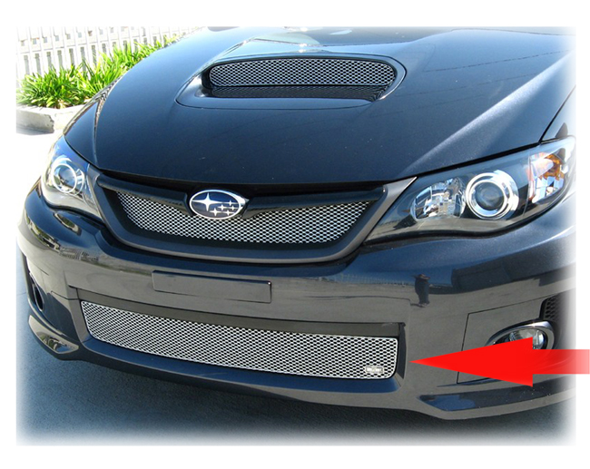 Lower Grille Insert By Grillcraft To Fit 2011 2012 2013