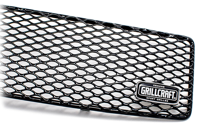 C&C CarWorx offers this aftermarket Lower Grille for 2002-2003 Subaru Impreza WRX available in silver and black by Grillcraft.