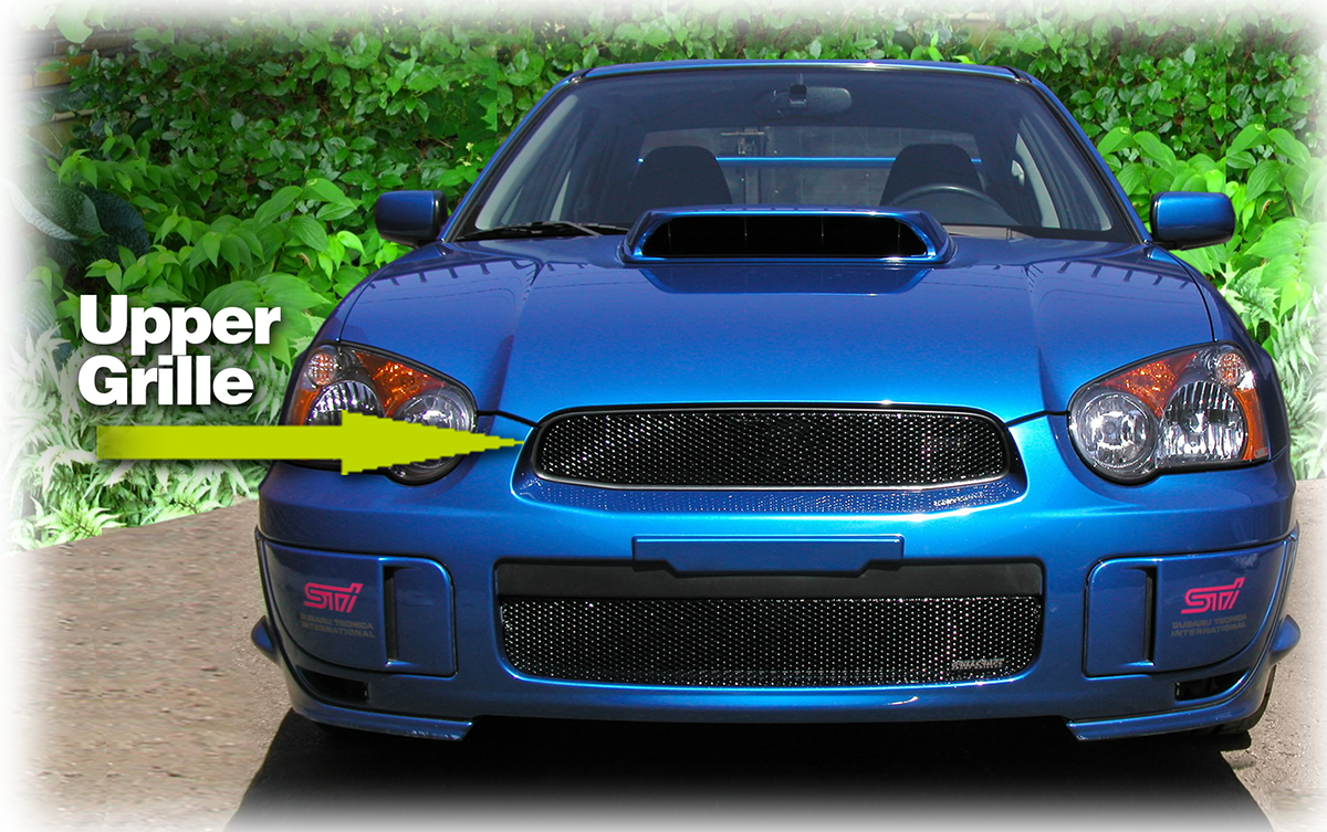 Upper Grille Insert By Grillcraft To Fit 2004 2005 Subaru