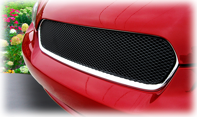 C&C CarWorx offers this aftermarket Upper Grille for 2005-2007 Subaru Legacy 4-Door Sedan available in silver and black by Grillcraft.