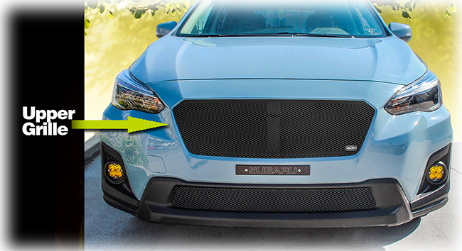 Upper Grille Insert By Grillcraft To Fit 2018 2019 Subaru