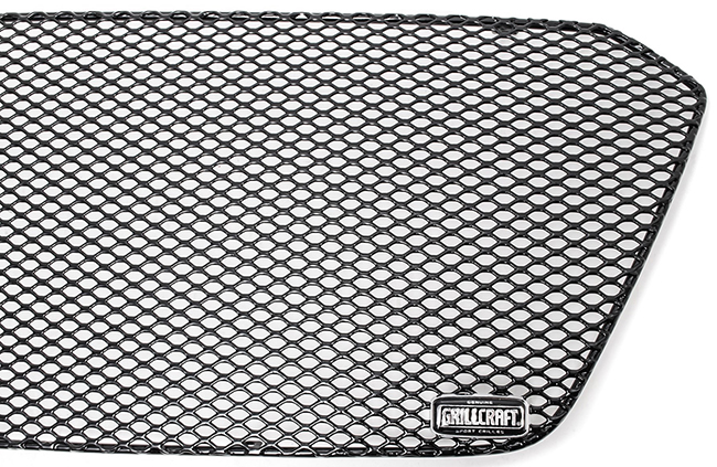 C&C CarWorx offers this aftermarket Upper Grille Insert for 2018-2019 Subaru Crosstrek available in black by Grillcraft.