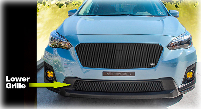 Lower Grille Insert By Grillcraft To Fit 2018 2019 Subaru