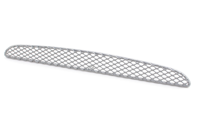 C&C CarWorx offers this aftermarket Hood Scoop Grille 1-piece part for 2005-2011 Toyota Tacoma models in SILVER by Grillcraft.