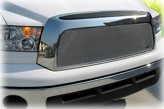 Customer testimonials confirm satisfaction with the Grillcraft upper grille insert to fit selected models of 2007-2009 Toyota Tundra