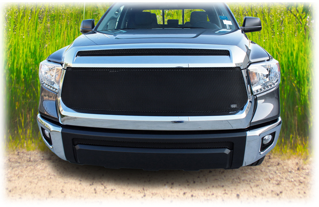 Customer testimonials confirm satisfaction with the Grillcraft set of two upper grille inserts to fit selected models of 2014-2019 Toyota Tundra