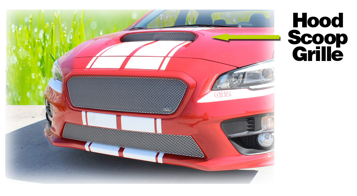 Hood Scoop Grille Insert By Grillcraft To Fit 2015 2016