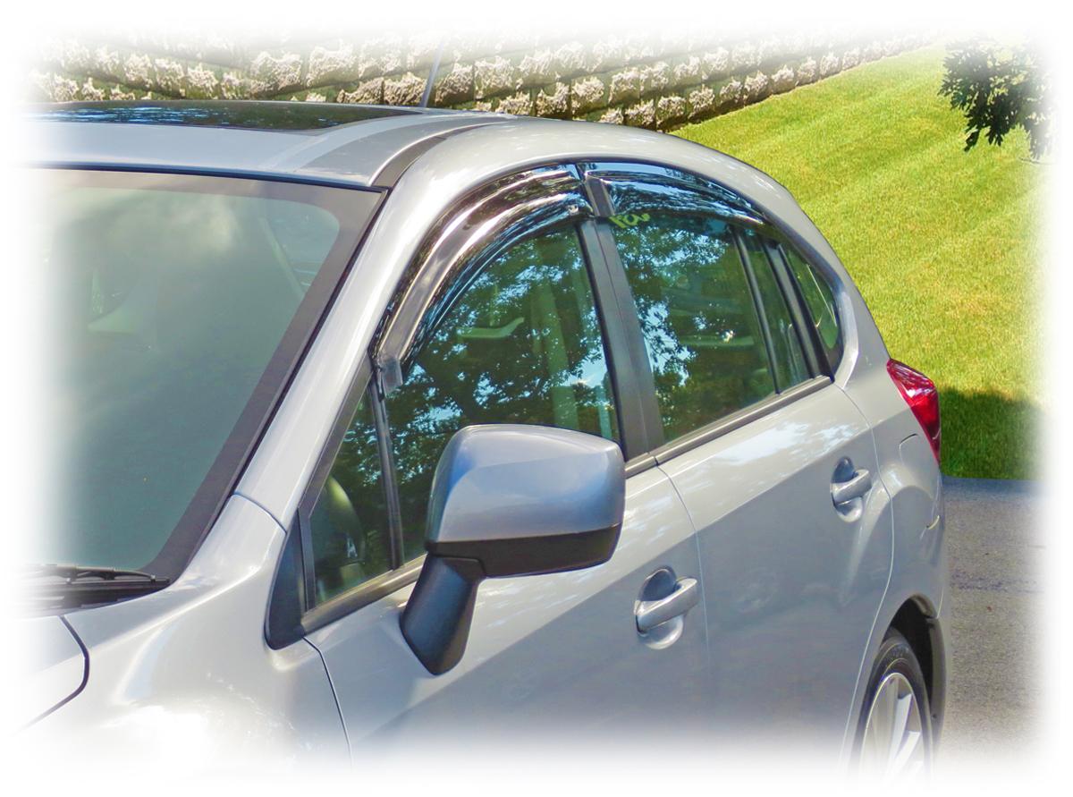 Rain Guards For New Impreza Hatchback Tape On Outside