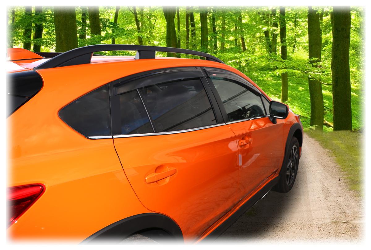 Rain Guards For 2018 2019 Subaru Crosstrek Tape On