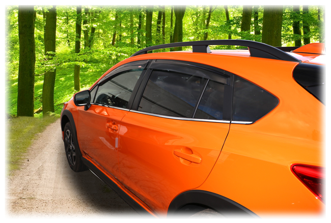 Wv Si Tf Crosstrek Rear Angle Of Car