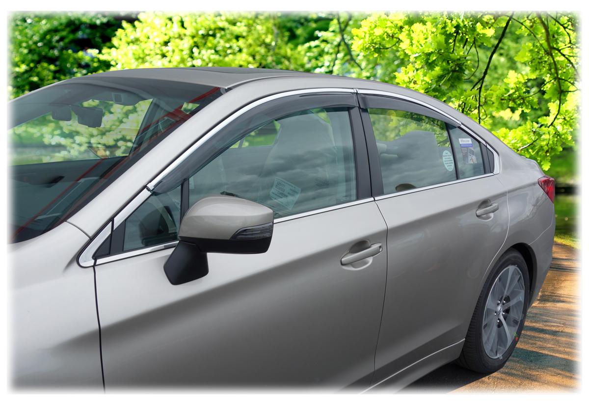 Cobra Tuning S41598 Vent Visor Window Deflectors 4-pcs Compatible with Subaru Legacy Orgsteklo16