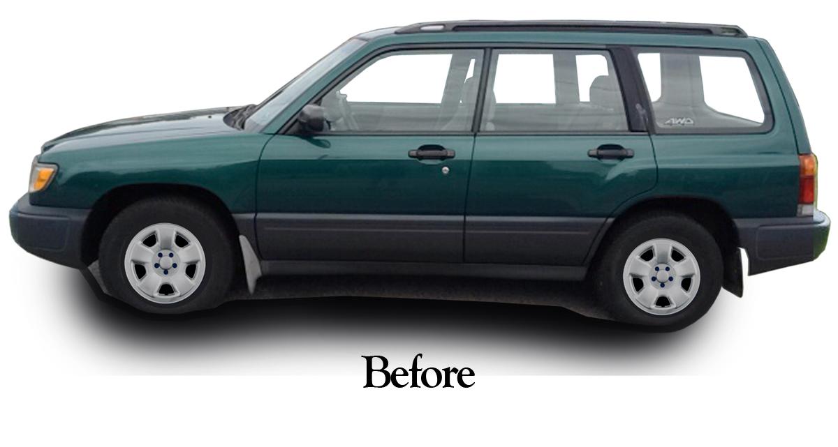 Subaru Forester 1998 1999 2000 2001 2002 Xl Or Lx